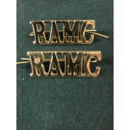 Royal Army Medical Corps shoulder titles WW1