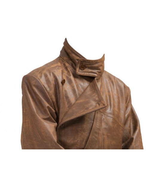 WW1 RFC Royal Flying Corps leather coat - VINTAGE LOOK
