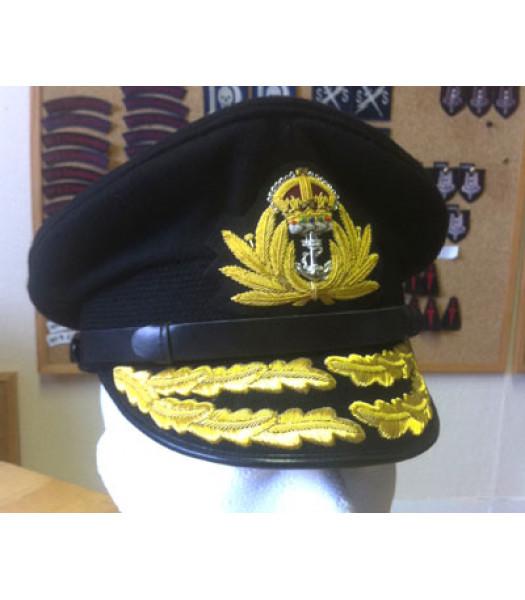 WW2 Royal Navy Admiral Cap