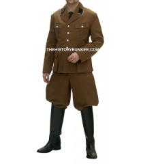 WW2 German SA tricot FULL UNIFORM Brown