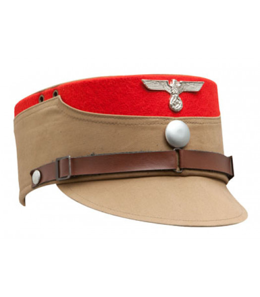 SA kepi RED TRIM - WW2 German CAP