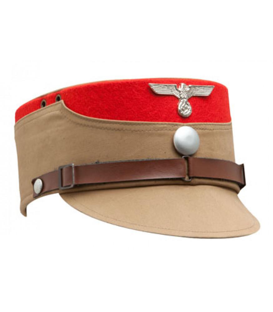 d1c25df5027 SA kepi RED TRIM - WW2 German CAP