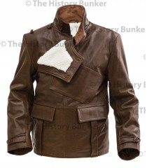 WW1 Royal Flying Corps leather coat  short version