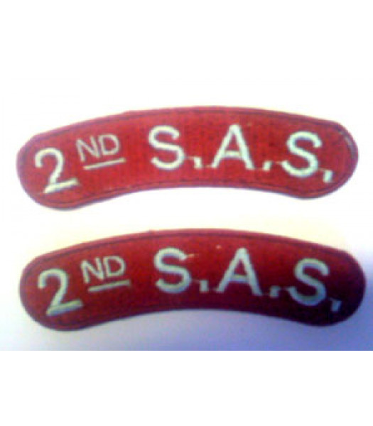 2nd SAS Shoulder Titles