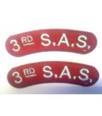3rd SAS Shoulder Titles
