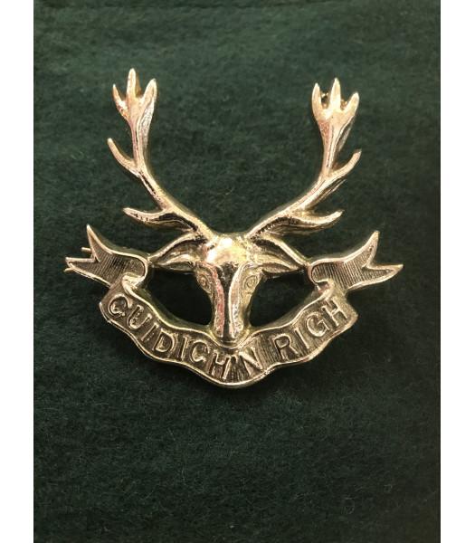 Seaforth Highlanders regiment cap badge WW1