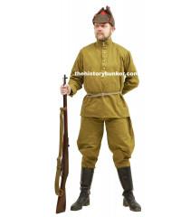 WW2 Soviet Infantry soldier - with Budyenovka or Pilotka