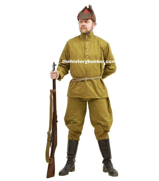 WW2 Soviet Infantry soldier - with Budyenovka or Pilotka for hire