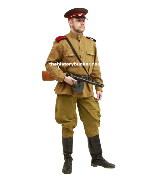WW2 Soviet Infantry officer for hire