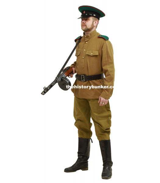 WW2 NKVD Soviet officer - Border Guard FOR HIRE