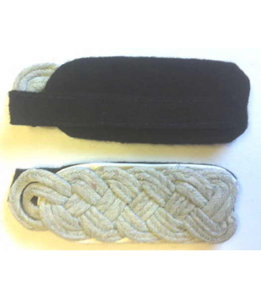 German SS Shoulder Boards - Major - Colonel Ranks - Infantry