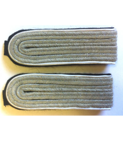 German SS Shoulder Boards - Lieutenant - Captain Ranks - Infantry