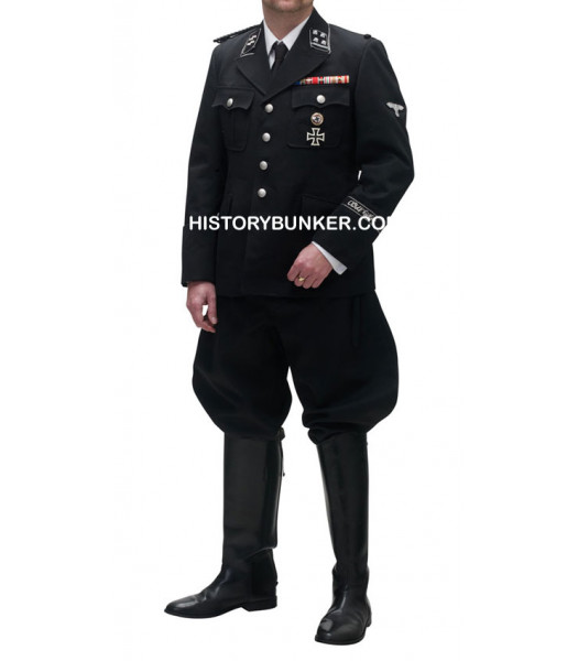 WW2 German SS tricot  UNIFORM Black