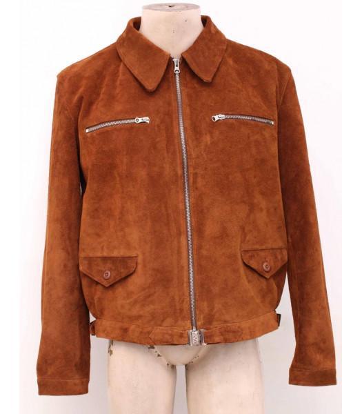 WW2 German Luftwaffe Eric Hartmann SUEDE jacket BROWN