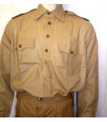 WW2 British 2 pocket shirt