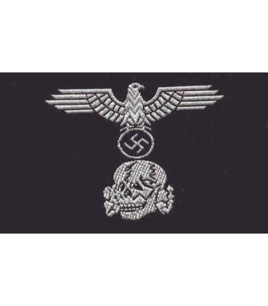 SS Panzer Enlisted Man M43 BeVo Cap Badge