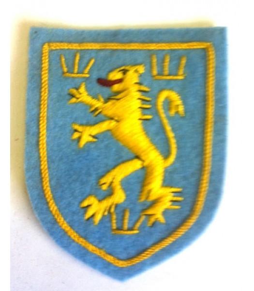 Ukranian Galician SS division sleeve shield
