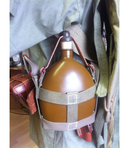 WW2 Imperial Japanese Army - WATER BOTTLE WITH STRAP