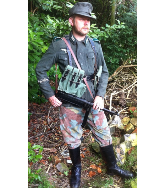 WW2 German Army Infantry enlisted man uniform in battle FOR HIRE