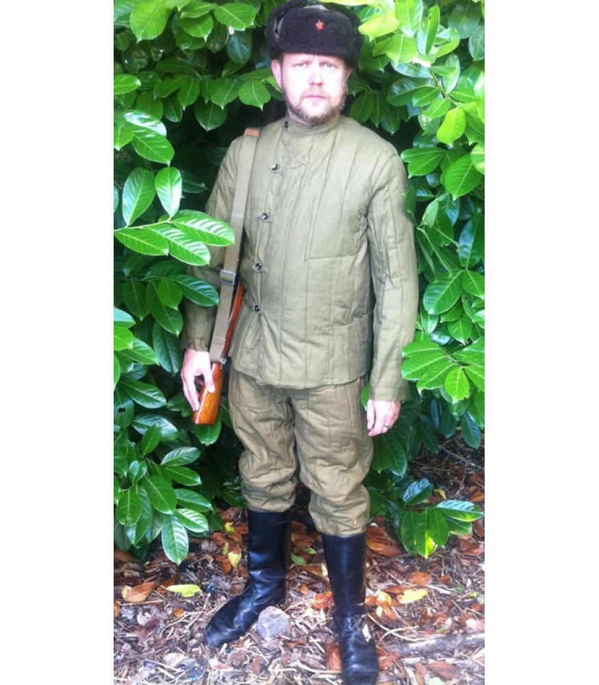 sc 1 st  The History Bunker & WW2 Soviet Red Army Telogrieka Winter Uniform