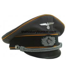 WW2 Heer Signals - German Officers Cap